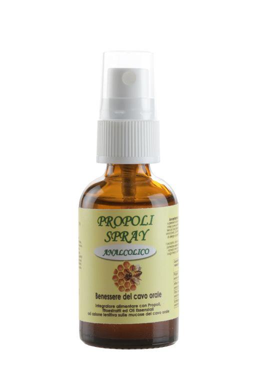 Propoli Spray Soluzione analcolica