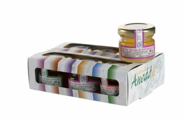 Miele monodose scatolina 6 pz assortiti